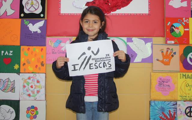 Lorena Morante, ganadora del concurso para crear el logotipo de la Olimpiada Escolar de Illescas. IMAGEN COMUNICACION ILLESCAS