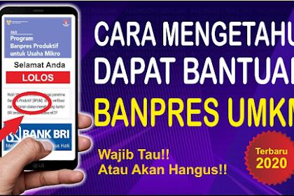 INILAH Tanda Dapat BLT UMKM Tanpa Cek Daftar di Link Banpres eform.bri.co.id/bpum, Cek DISINI