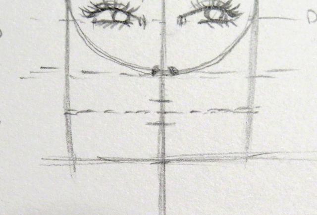 Línea que marca la división del labio superior e inferior y que a la vez marca la altura de la mandíbula