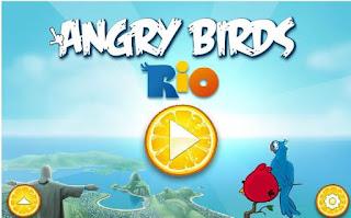 Chơi game angry bird rio hấp dẫn
