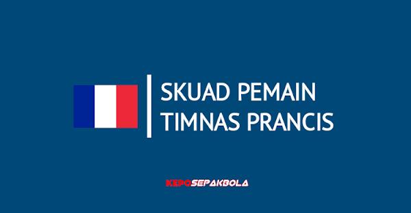 daftar susunan nama pemain timnas Prancis terbaru