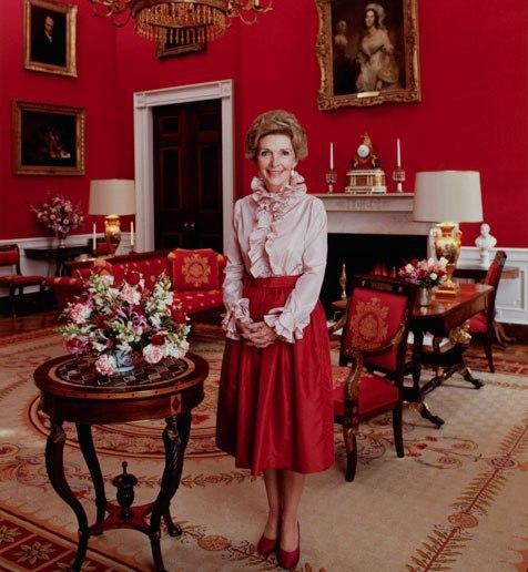 The Glam Pad Nancy Reagan S White House