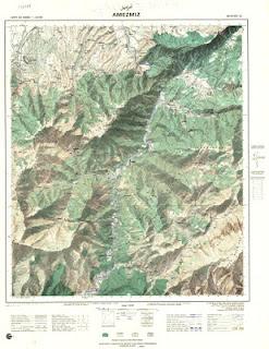 AMEZMEZ 2 Morocco 50000 (50k) Topographic map free download