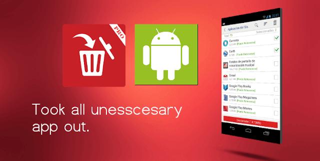 """تحميل تطبيق System app remover لإزالة تطبيقات النظام الإفتراضية """"ROOT"""" لاجهزة أندرويد"""