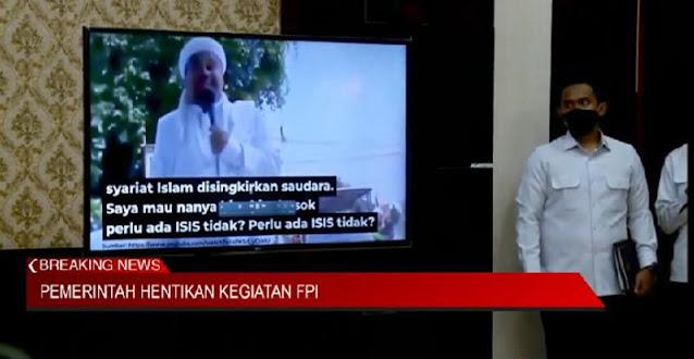 Kemenko Polhukam Siarkan Video Dukungan FP1 Terhadap I51S, Begini Isinya