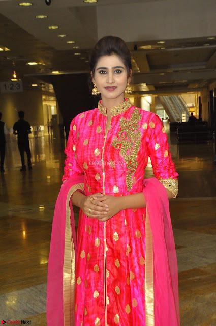 Shamili in Pink Anarkali Dress 02.JPG