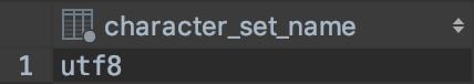 Come controllare se una tabella di MySQL è codificata in UTF8
