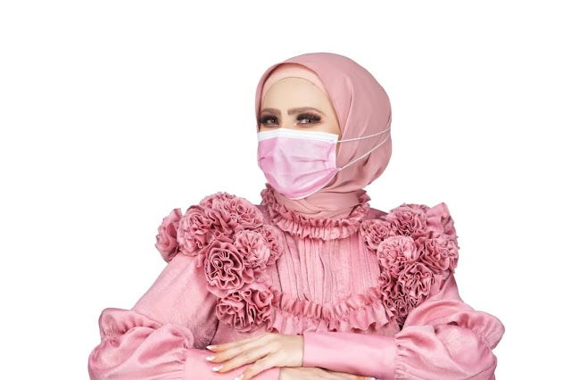 Himaya Premium Hijab Medical Face Mask New Ambassador; Rozita Che Wan & Fundraising Campaign For National Cancer Council (MAKNA).