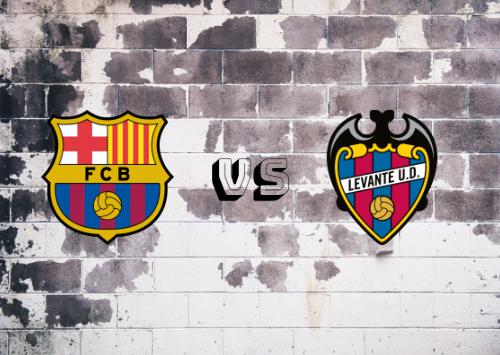 FC Barcelona vs UD Levante   Resumen y Partido Completo