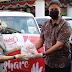 Bupati Tetty Paruntu Menerima Bantuan 1200 Paket Dari PT Sasa Inti