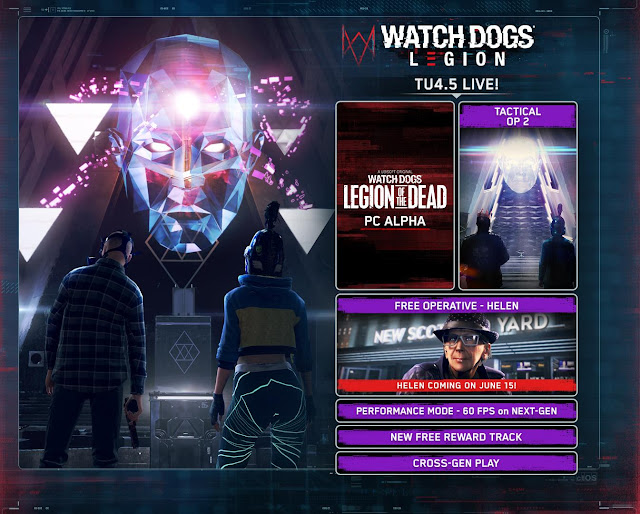 Watch Dogs Legion Patch Notes 4.5 now Live - Brings 60 FPS mode in consoles, Cross Family Play, and New Operative   TechNeg