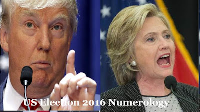 numerology predictions us election 2016 trump and clinton