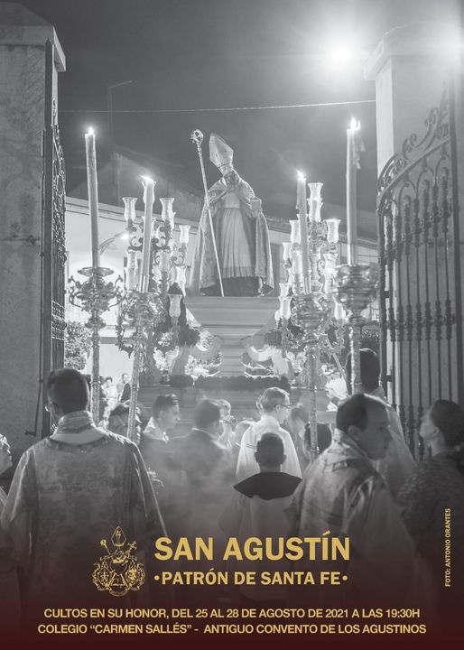 Calter de San Agustín 2021, Patrón de Santa Fe