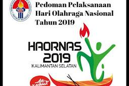 Lengkap - Download (PDF) Sambutan/Pidato Menpora, Tema, Logo, dan Lagu Mars pada Peringatan Haornas 2019