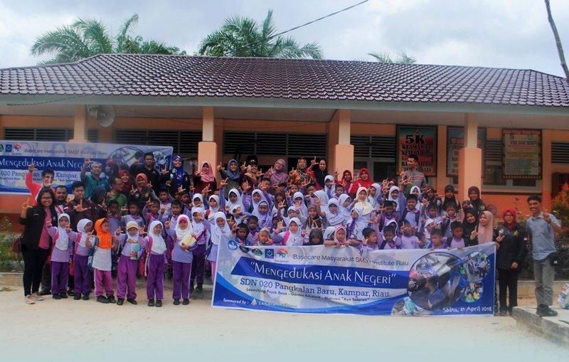 Mantap! MSI Riau Launching Pojok Baca di SDN 020 Pangkalan Baru