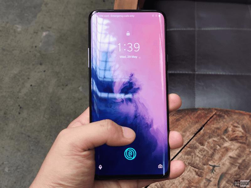 With In-Screen fingerprint sensor