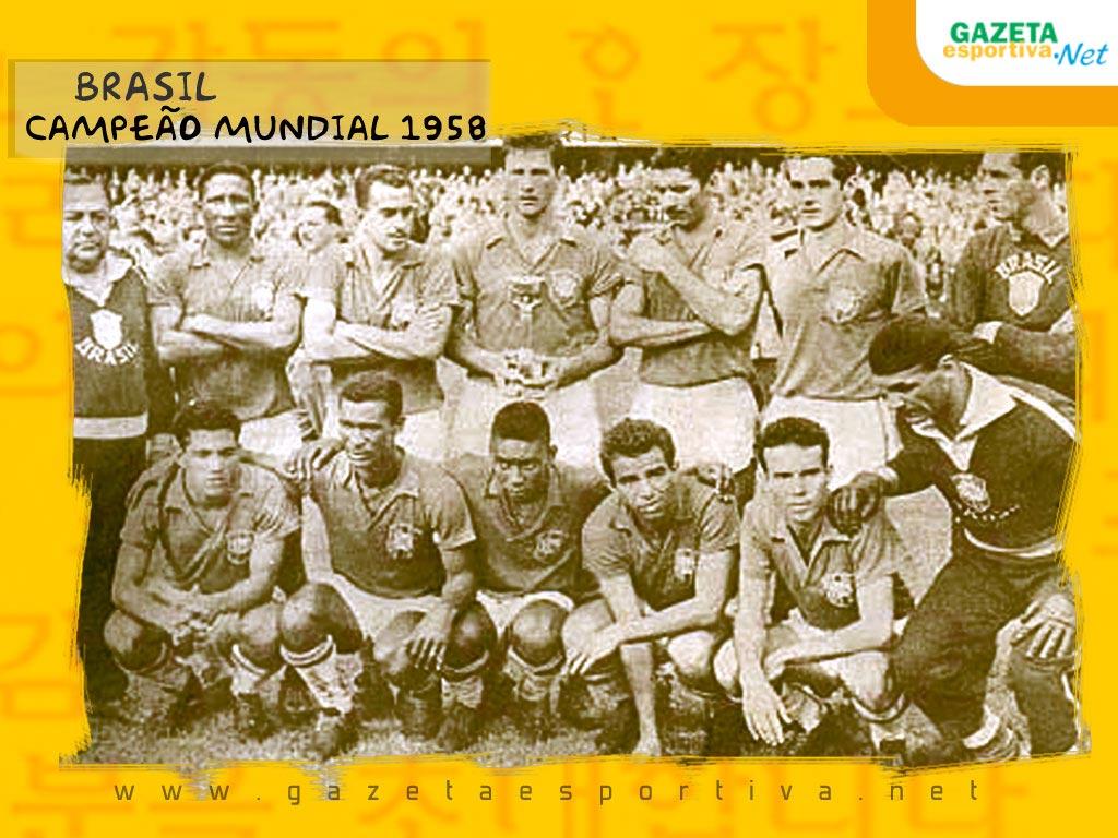 ec58f46c22 Convocação da Seleção Brasileira nas Copas do Mundo Fifa  Copa de 1958