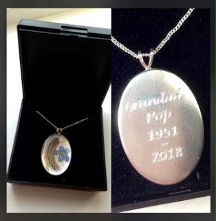 Engraved sterling silver pendants for hair