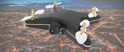 Dron que protege tu propiedad