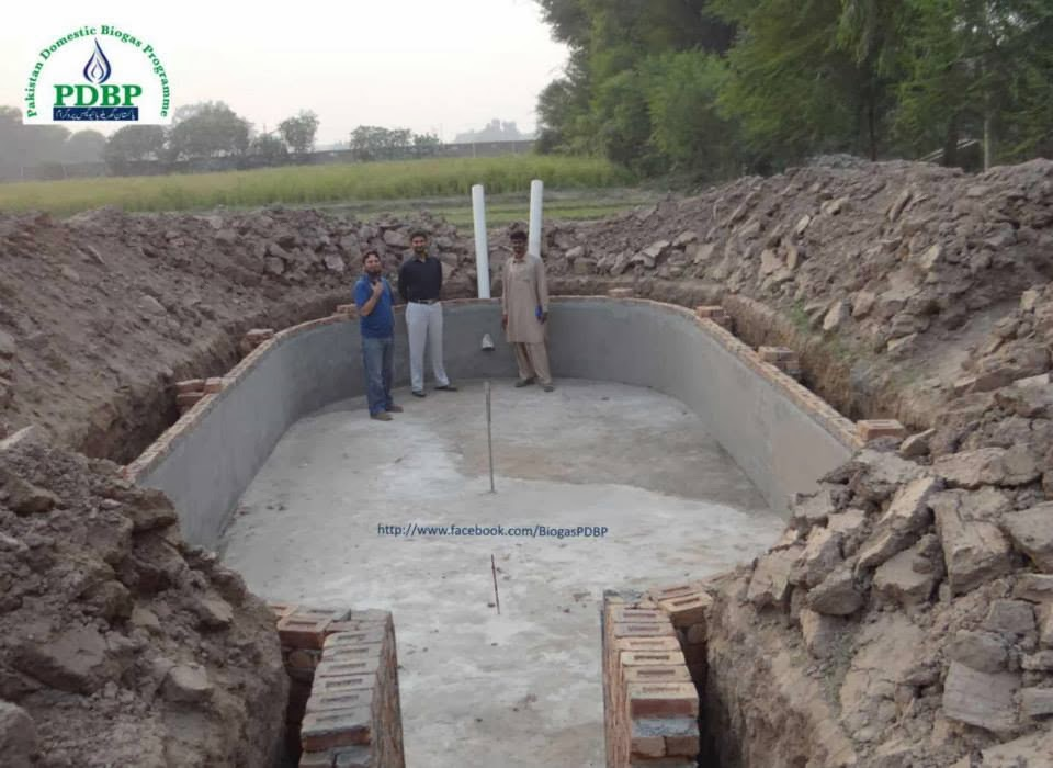 Biogas Plant Construction for Electricity Generation by PDBP