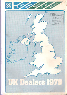 BL UK Dealers April 1979 front cover