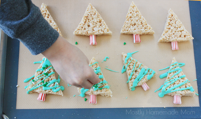 Easy Christmas Rice Krispies