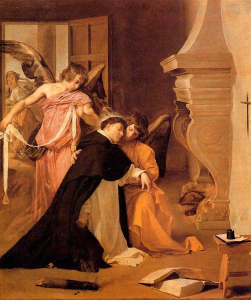 Диего Веласкес - Искушение святого Томаса Аквинского (1631-1632)