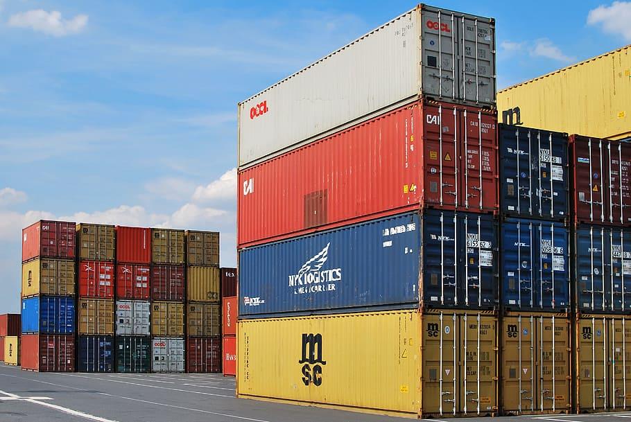 ilustrasi sistem LCL dan FCL dalam kontainer
