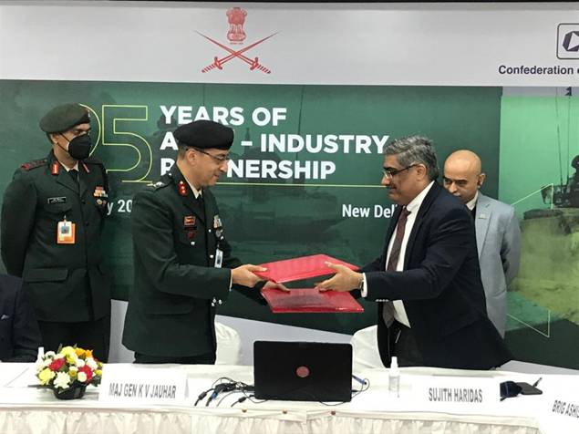 MoU-Sign-between-Indian-Army-and-SIDM