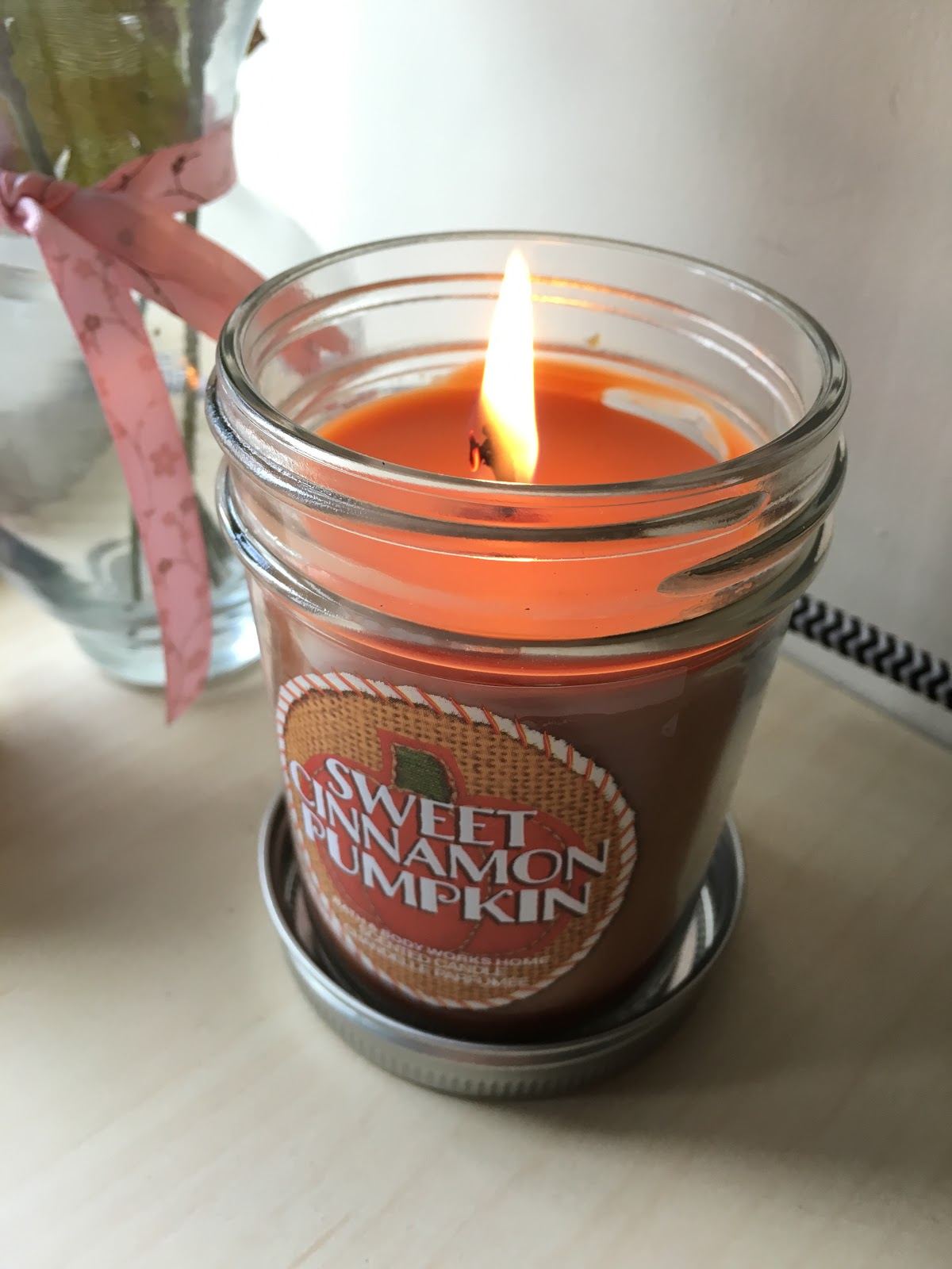 Bath and Body Works Sweet Cinnamon Pumpkin Candle | Akinokiki