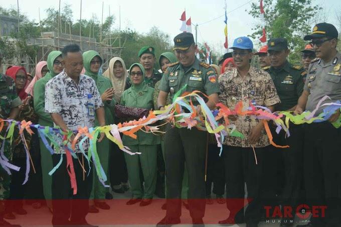 Letkol Arief Darmawan S.Sos  : TMMD Wujudkan Pembangunan Untuk Kesejahteraan Rakyat