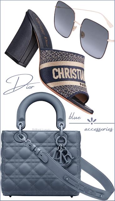 ♦Dior blue accessories #dior #brilliantluxury