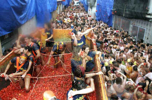 La Tomatina - Festival Terbesar di Dunia