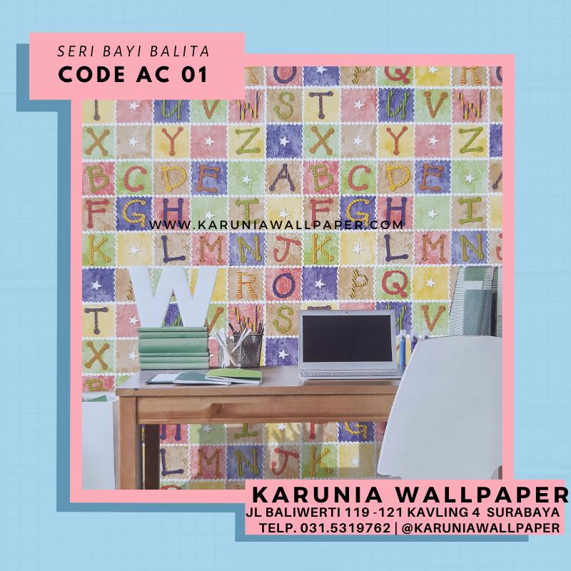 jual wallpaper dinding ruang anak bayi