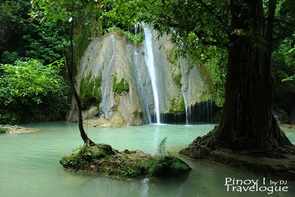Barely trickle Batlag Falls