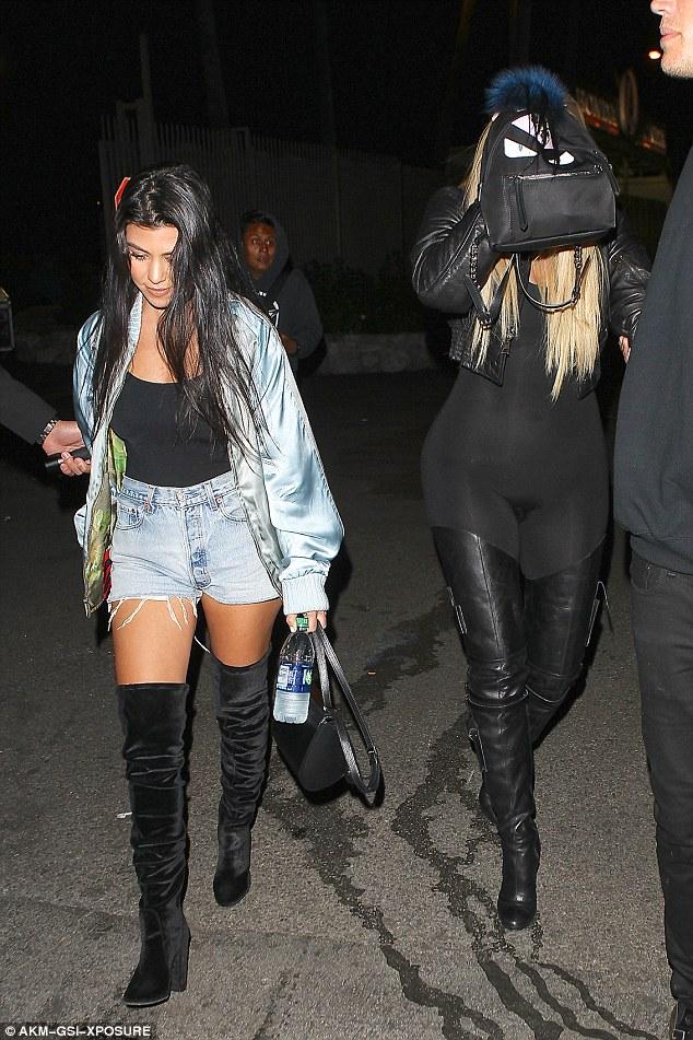 Khloe Kardashian attends Beyonce's concert in sheer jumpsuit