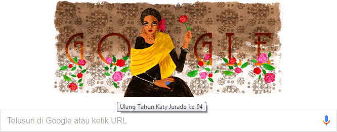 Ulang Tahun Katy Jurado ke-94