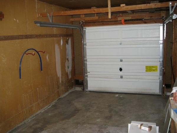 porta garage scorrevole soffitto