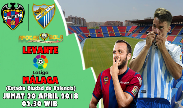 Prediksi Levante vs Malaga 20 April 2018