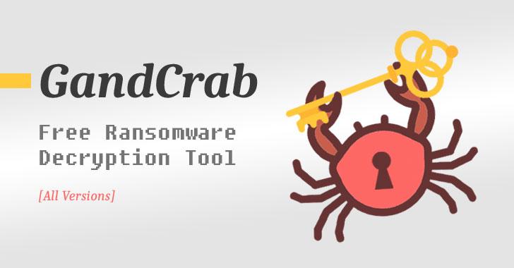 tải xuống công cụ giải mã ransomware GandCrab