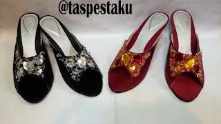 Handmade Sandal Sepatu Pesta Mewah Unik