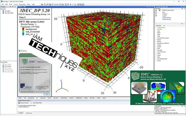 ITASCA 3DEC v5.20