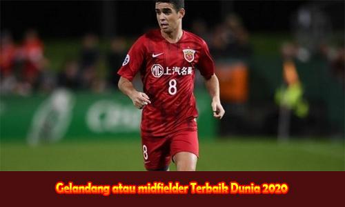Gelandang atau midfielder Terbaik Dunia 2020
