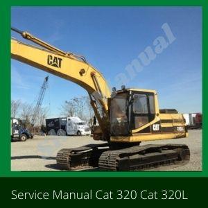 Service Manual Cat 320 Cat 320L