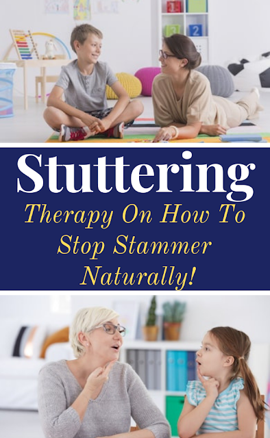 Therapy On How To Stop Stammer Naturally