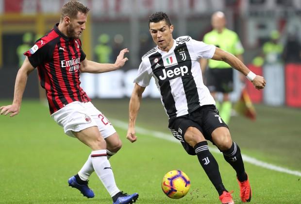بث مباشر مباراة يوفنتوس وميلان اليوم 13-02-2020 في كأس إيطاليا