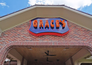 Grace's (restaurant signage) 3111 Kirby Dr Houston, TX 77098