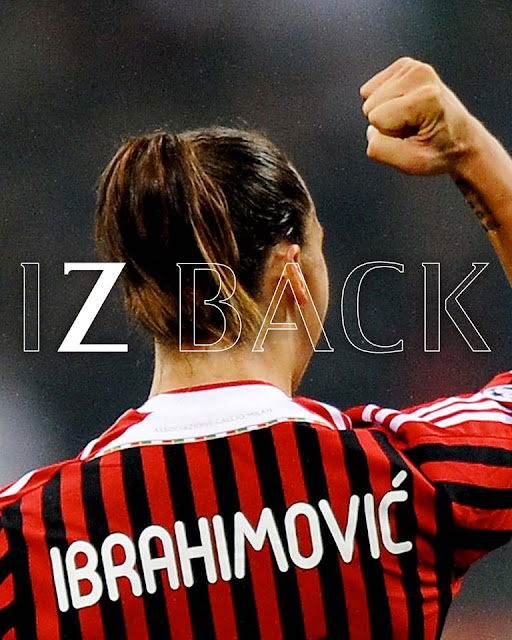 Zlatan Ibrahimovic Sertai AC Milan Januari 2020