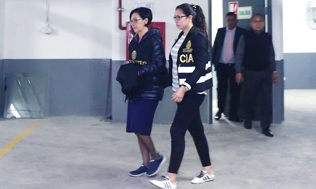 Detenida Ana Herz de Vega asesora de Keiko Fujimori