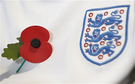 FIFA back down in poppy row.